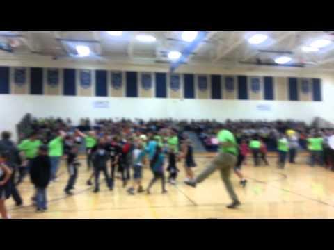 Harlem shake Nekoosa high school staff