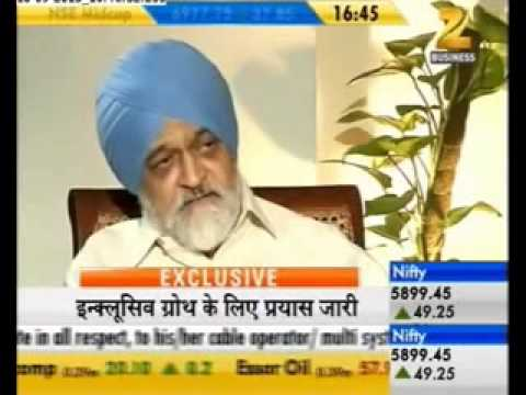 Exclusive interview with Montek Singh Ahluwalia