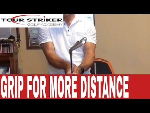 Martin Chuck. PGA   Golf Grip Awareness - Lead Hand
