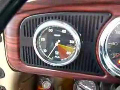 Vw beetle tachometer - Part II