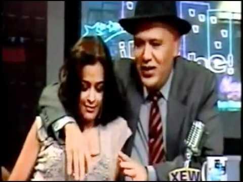 Larissa Riquelme Beija E Excita Apresentador De Televisão video