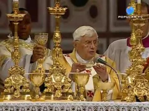 Santa Misa en la cena del Señor - 09/04/2009