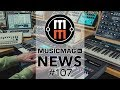 MUSICMAG TV NEWS 107 Железячный сэмплер Pipes чудо балайка от AKAI SL MkIII от Novation и др mp3