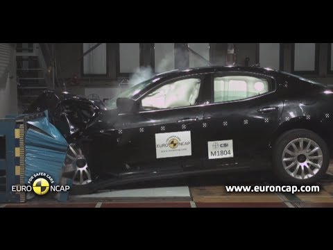 Maserati Ghibli 5 Star NCAP Crash Test Amazing Video New Maserati Ghibli Commercial Carjam TV 2014