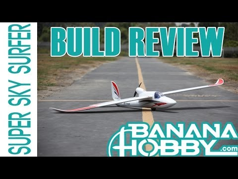 Super Sky Surfer BlitzRCWorks   Build Review   Sailplane & Glider