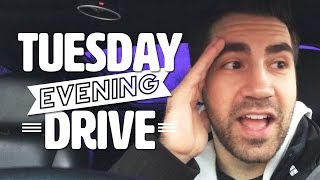 Tuesday Evening Drive - THIS WEEKS SCHEDULE, CAR WITH EYELASHES