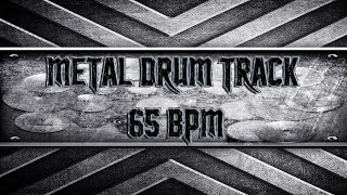 Doom/Stoner Metal Drum Track 65 BPM (HQ,HD)