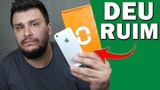 Comprei Um iPhone na TROCAFONE e OLHA NO QUE DEU