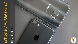 CONFRONTO iPhone 7 vs. Samsung S7