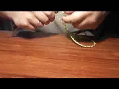Оплетка рукояти ножа 4
