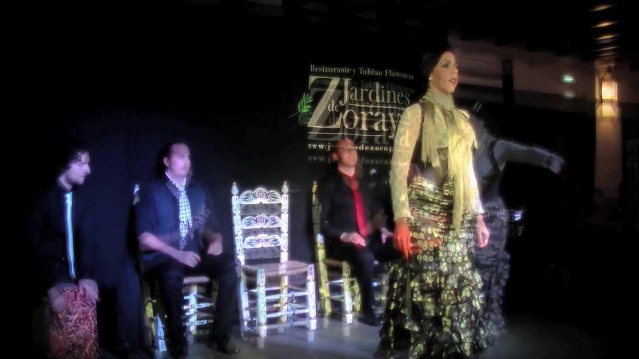 Concierto de flamenco en jardines de zoraya martes 23 04 2013 youtube - Los jardines de zoraya ...