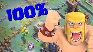 100% Taktik ☆ Clash of Clans ☆ CoC