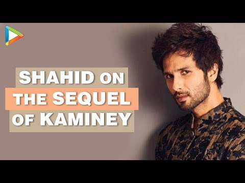 Haider: Shahid Kapoor Exclusive Interview on Kaminey sequel...