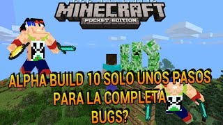 Minecraft pe 0.9.0 alpha build 10 build final