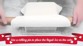 How to... Cover a square cake in Regal Ice