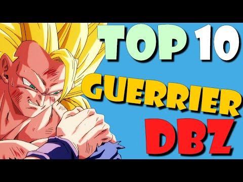 TOP 10 Combattants de Dragon Ball !