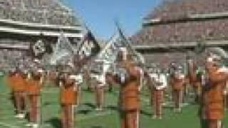 Bonfire 1999 Tribute Texas Longhorn Band