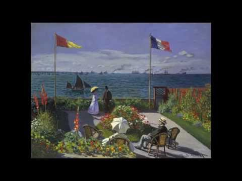 6 Claude Monet Garden at Sainte-Adresse 1867 Metropolitan Museum of Art Part 1