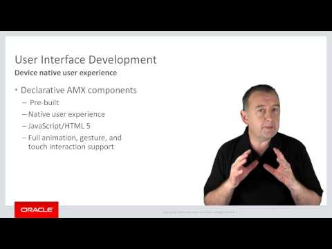 MAF: 02. An Introduction to Oracle Mobile Application Framework (Oracle MAF)