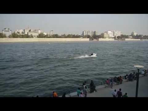 Sabarmati Riverfront Ahmedabad 2012
