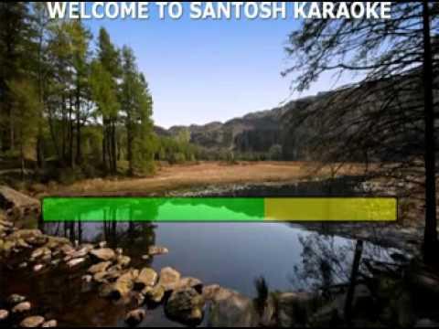 Sau Dard Hai Karaoke With Lyrics video