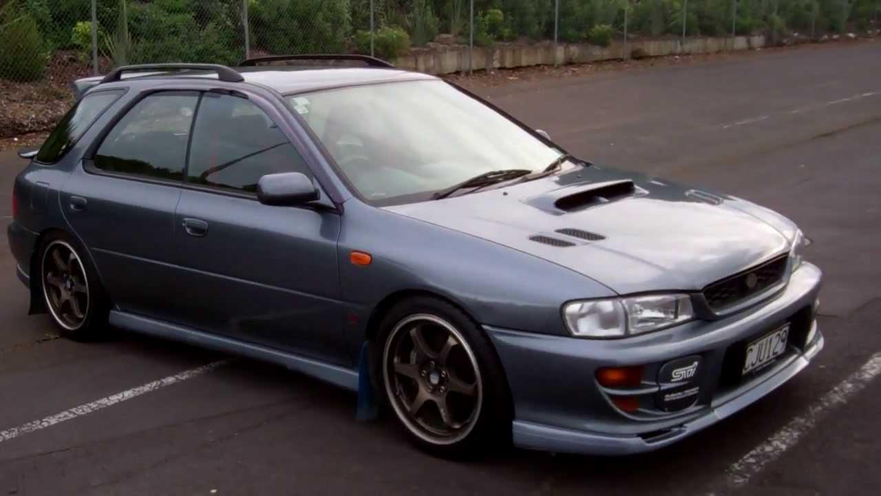 1999 Subaru Impreza Wrx Sti Version 5 No Reserve