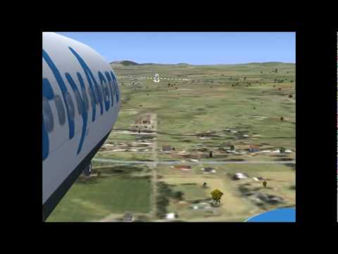 Fly Aero Virtual 737-800 landing Canberra (YSCB)- JOIN FLY AERO TODAY