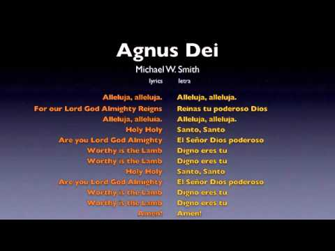 Agnus Dei - Michael W. Smith Portuguese Sheet Music ...