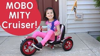 MOBO MITY 3-WHEELED CRUISER for Kids | Ride On Toys for Kids | Bikes for Kids!!