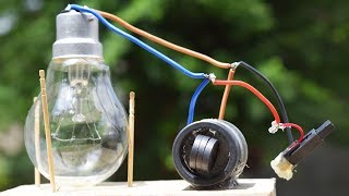 Free Energy Light Bulbs 230v - using Magnet