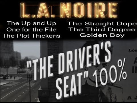 LA Noire - Walkthrough Mission 1 Part 1 The Driver's Seat