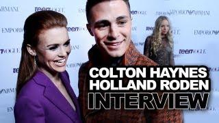 Colton Haynes & Holland Roden Talk Fashion, Cute Friendship & More