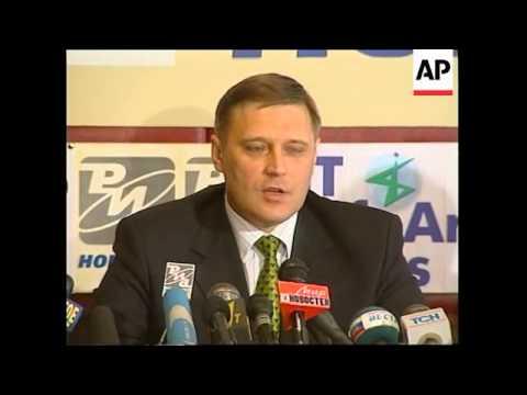 RUSSIA: MOSCOW: AMERICAN FINANCIER GEORGE SOROS VISIT
