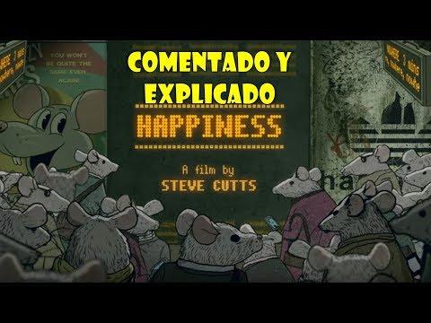 Happiness de Steve Cutts (explicado) - Los ratones de Skinner