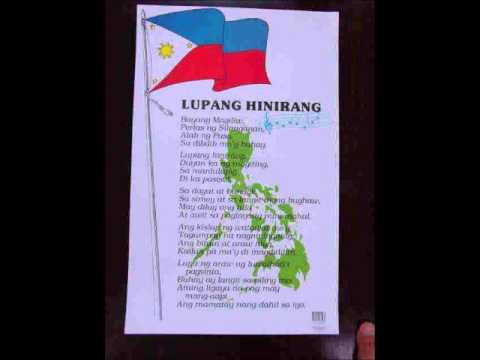 Lupang Hinirang Key Of G ( The Philippine National Anthem ) video