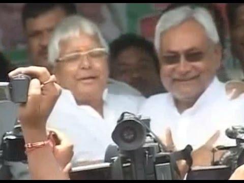 Is all not well between Lalu Prasad Yadav and Nitish Kumar?
