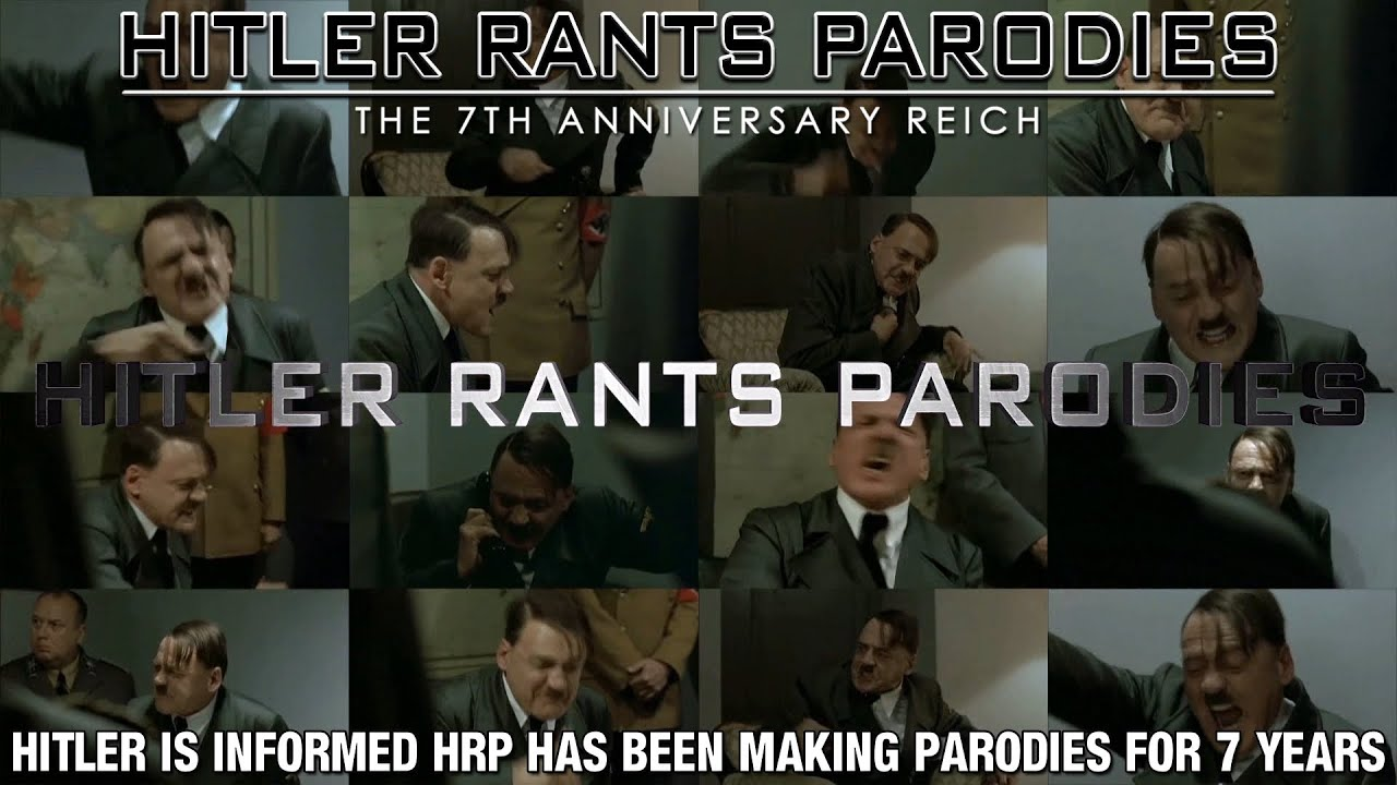 Hitler is informed HRP has been making parodies for 7 years