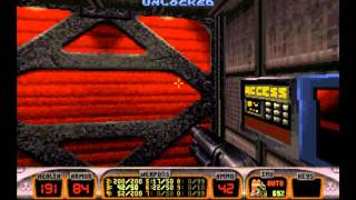 Duke Nukem 3D Episode 1 Playthrough 100% Secrets