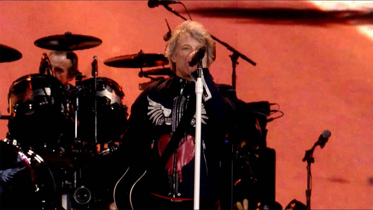 "Bon Jovi - ""Lost Highway""のライブ映像を公開 「2019 This House Is Not For Sale Tour」Sonderborg (Denmark)公演から thm Music info Clip"