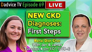 Renal Dietitian Chat | New CKD Diagnosis: First steps to living with Kidney Disease and a Renal Diet