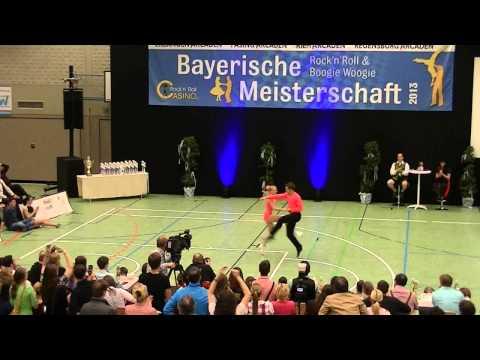 Nicole Kalb & Alexander Kapsalis - Landesmeisterschaft Bayern 2013