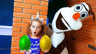 Learn Colors With Eggs Nursery Rhymes Song for kids