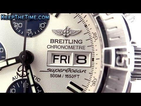Breitling Aeromarine SuperOcean Chrono A13340 (HD Video Review)