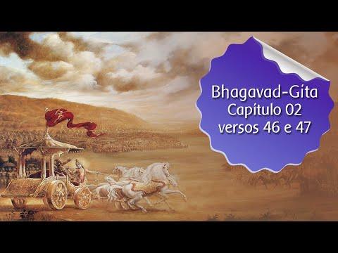 Estudo da Bhagavad-Gita - cap.02 versos 46 e 47