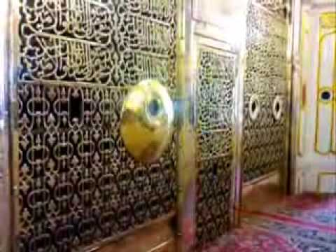 NOOR coming out from Jaali Mubarak Madinah Sharif