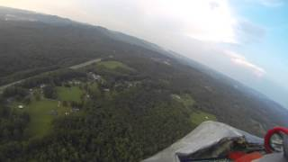 Aerial Video, Summersville Lake, West Virginia, 5 September 2015