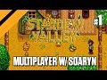 Stardew Valley: Farming with Day[9] - Multiplayer w/ Soaryn - P1