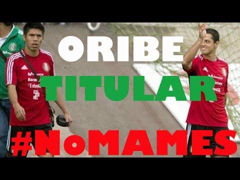 Gol Oribe Peralta Camerún ¿debe ser titular? y Javier Chicharito Hernandez Mundial de Brasil 2014