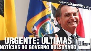 URGENTE: Últimas notícias do Governo Bolsonaro - Encontro com chefes de Estado no Chile