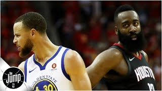 Rockets should want Warriors earlier in the playoffs - Amin Elhassan | The Jump
